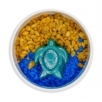 Oceanic Creatures Bubbling Bath Salts with eco-friendly glitter